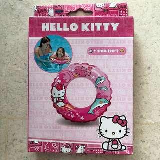 Brand new Hello Kitty swimming round float