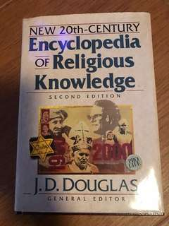 Encyclopedia of Religious Knowledge (2nd edition) by JD Douglas