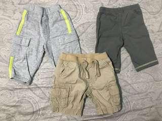 Baby Boy Pants Set of 3 (3-6 months)