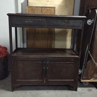 Teakwood Cabinet/Shelf