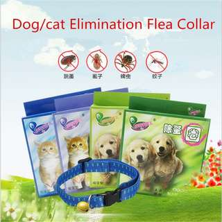 (PRE-ORDER) PET FLEA COLLAR 100% SAFE AND EFFECTIVE, FLEA CONTROL COLLAR FOR CATS & DOGS