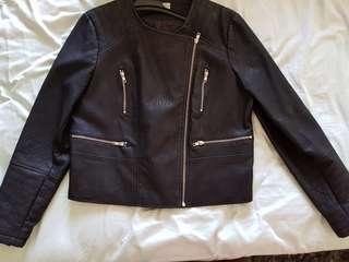 Women's Leather Jacket size 18