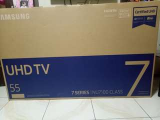 Samsung NU7100 55inc 4K UHD HDR Bnew!!
