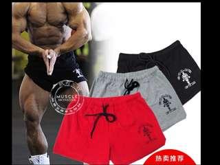 (4件/4pieces) 健身戶外旅行運動男女短褲 (有碼有款) (露宿者推廣系列) (包Buyup自取站取貨) (Gym Exercise Short Pants)