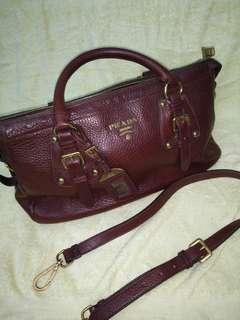 Prada Leather Bag (Genuine)