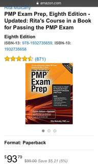 PMP EXAM PREP UPDATED 8th edition