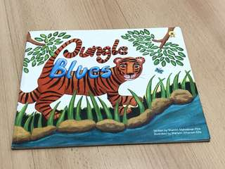 Jungle Blues Animal Storybook for Children