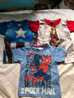 Marvel Shirts for Toddler Boys