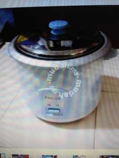 PHILUX Rice Cooker 2.6L/ Periuk Nasi