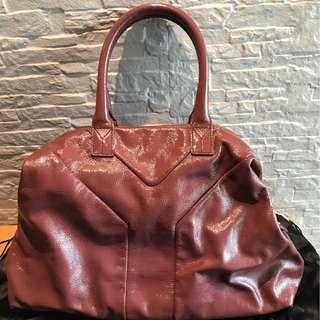YSL easy bag dusty pink