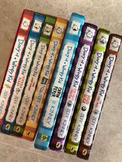 Diary of a Wimpy Kid - Bundle of 8 books