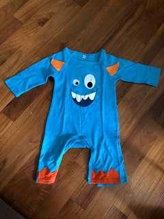 Baby Boy Sleepwear little Monster