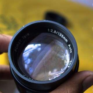 Porst Tele 135mm F2.8 M42 Tajam Langka