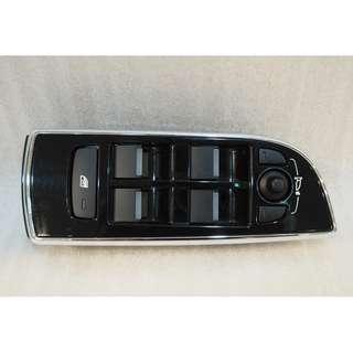 JAGUAR XF 2013 FRONT DRIVER DOOR POWER WINDOW CONTROL SWITCH AW9314540 #1168