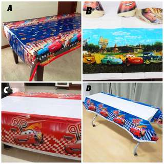 🚘 Disney Cars party supplies - tablecloth / table cloth / table cover