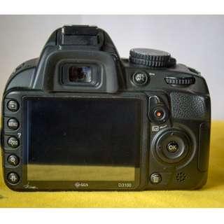 Nikon D3100 Body Only SC 20xxx