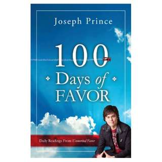 100 Days Of Favor Kindle Edition by Joseph Prince  (Author)