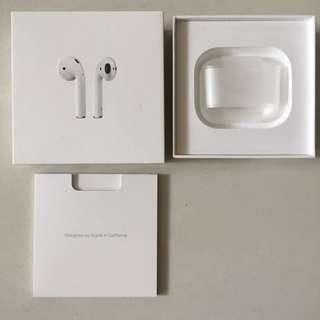 Apple AirPods box. 吉盒 1 個