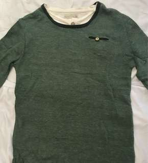 ZARA Green Sweater for Boys (9-10years old)
