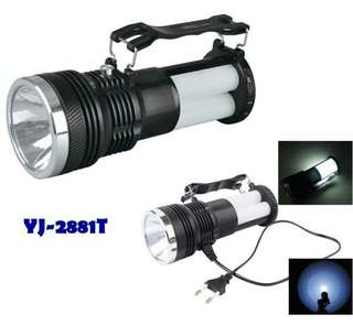 Rechargeable Foldable Multifunction Portable Lamp Flashlight Torch