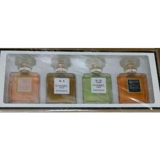 Chanel 4pcs gift set