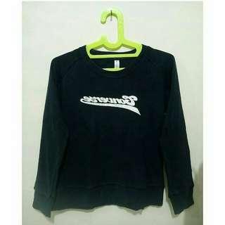 Navy sweatshirt by converse