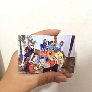 BTS photo card