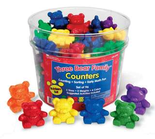 Learning Resources Bear Counters