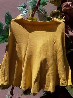 Canary Yellow Skirt