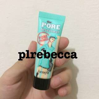 [NEW] BENEFIT PRIMER THE POREFESSIONAL MINIMIZE PORE MAKE UP BASE SHARE IN JAR ORIGINAL IMPORT MURAH