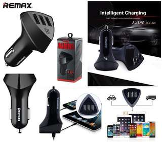 Remax Alien 3 USB Car Charger RCC-304