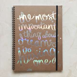 TYPO A4 Spinout Notebook