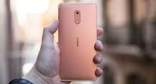 Nokia 6 Copper Bisa Kredit DP Rendah