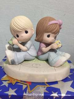 Buy 3 Get 1 Free : Precious Moments Telephone Couple Figurine: you had me at hello