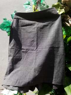 Grey Skirt (Formal - Suitable For Work)