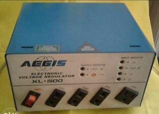 AEGIS Electronic Voltage Regulator