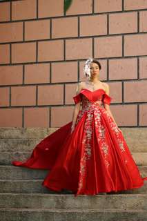 Red Debut Gown
