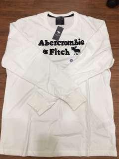 全新AF白色長袖XL