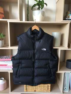 New Men's Large North Face Black 'Nuptse' Vest