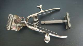 Antique Hair Clipper with Shaver
