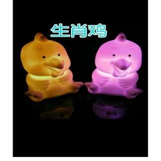 Night Lamp 7 Warna Karakter Binatang