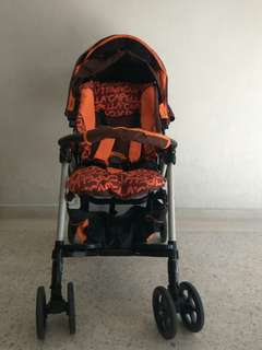 Almost brand new Capella light weight stroller with canopy