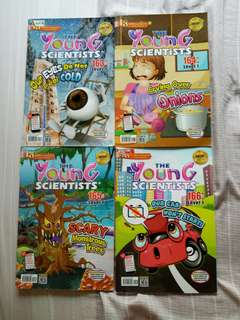 10 issues Level 1 Young Scientists 2017