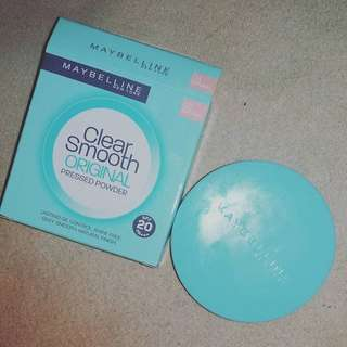 Maybelline Clear Smooth Original Pressed Powder in 03 Natural