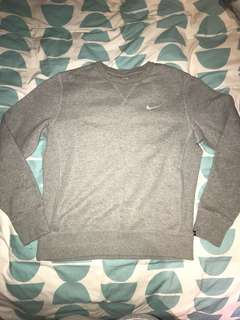 Nike grey jumper