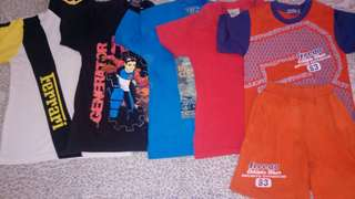 Bundle T-shirts 3-5 years old
