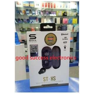 SOUL ST-XS 高性能真無線藍牙耳機 Bluetooth 香港行貨 一年保養