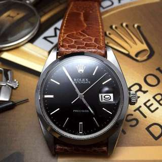 FOR SALE- 34mm Rolex 6694 In Piano Black