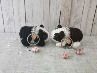 Amigurumi Guinea Pig : Billie the pig amigurumi toy crochet pattern pdf