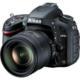 Nikon D610 with Tamron 24-70mm F/2.8( SUPER LOW SHUTTLE COUNT)